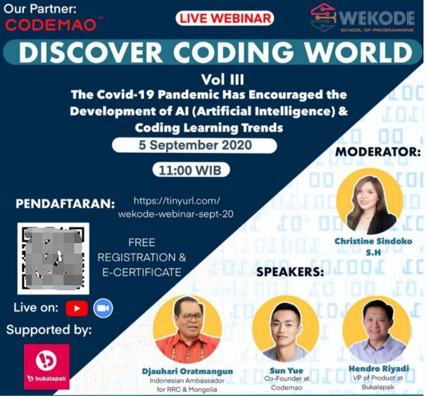 编程猫与WEKODE举办编程学习线上研讨会,探讨编程发展方向