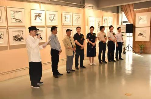 一念花开——孙向良水墨小品展在河南郑州开幕